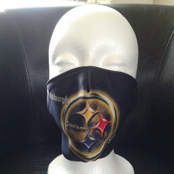 ❤NEW Pittsburgh Steelers Unisex Face Mask